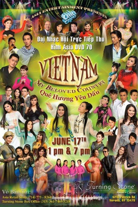 ASIA70: Việt Nam - Quê Hương Yêu Dấu (Vietnam - My Beloved Country)