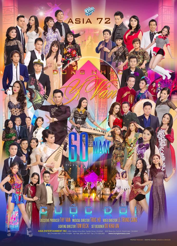 ASIA 72: Dòng Nhạc Y Vân - 60 Năm Cuộc Đời
